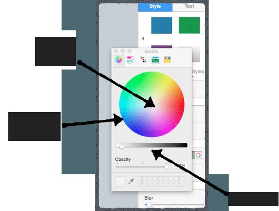Управление свойствами цвета