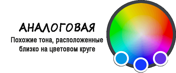 Аналоговая цветовая схема