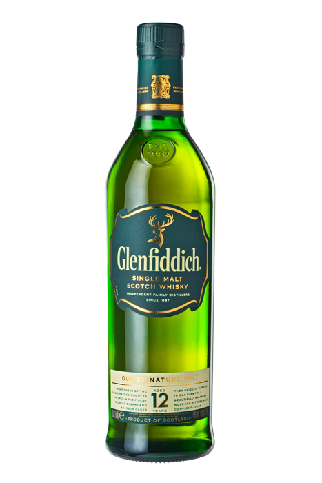 Фотосъемка алкоголя, Glenfiddich 12 Year Old Single Malt Whisky